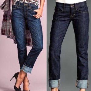 CAbi Straight Boyfriend Jeans Size 4